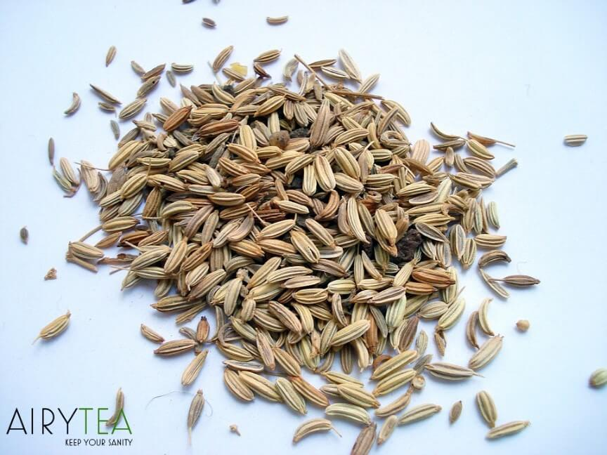 Fennel seeds tea