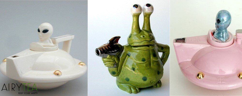 Weird Alien Teapots