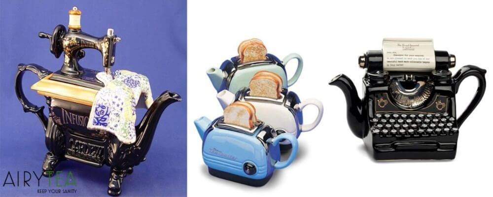 Machine Teapots