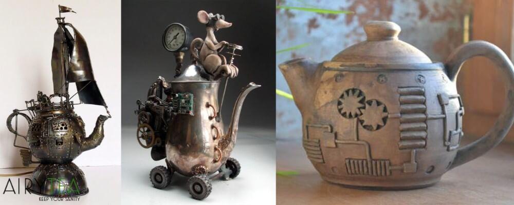Amazing Steampunk Teapots