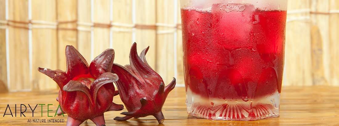How To Brew Roselle Hibiscus Flower Tea
