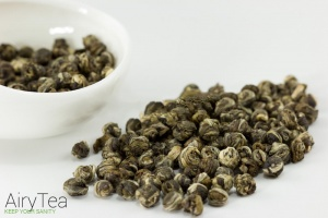 Imperial Jasmine Dragon Pearl Organic Green Tea