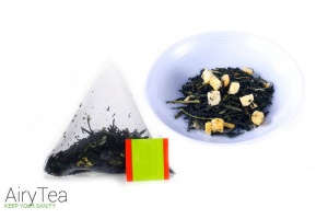 Mango Green Tea Luxury Tea Bags