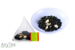 Peach Oolong Luxury Tea Bags
