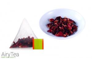 Roselle and Rose Tea Luxury Tea Bags