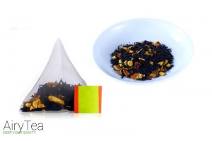 Tangerine Peel Black Tea Luxury Tea Bags
