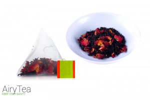 Rose Black Tea Luxury Tea Bags