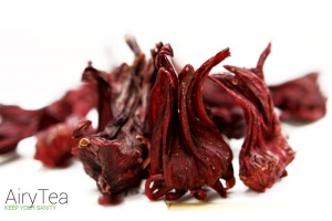 Organic Natural Dry Roselle Hibiscus Flower Tea