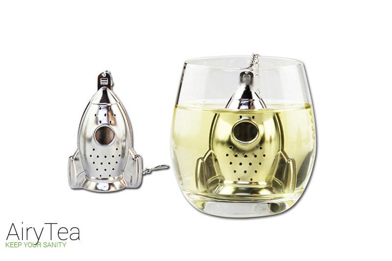 The Apollo Rocket (Stainless Steel) Tea Infuser