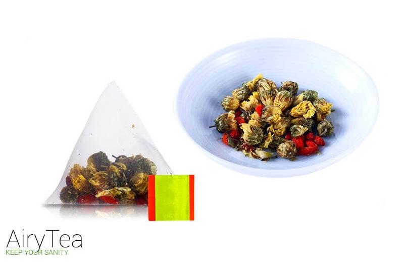 Chrysanthemum and Wolfberry Luxury Tea Bags
