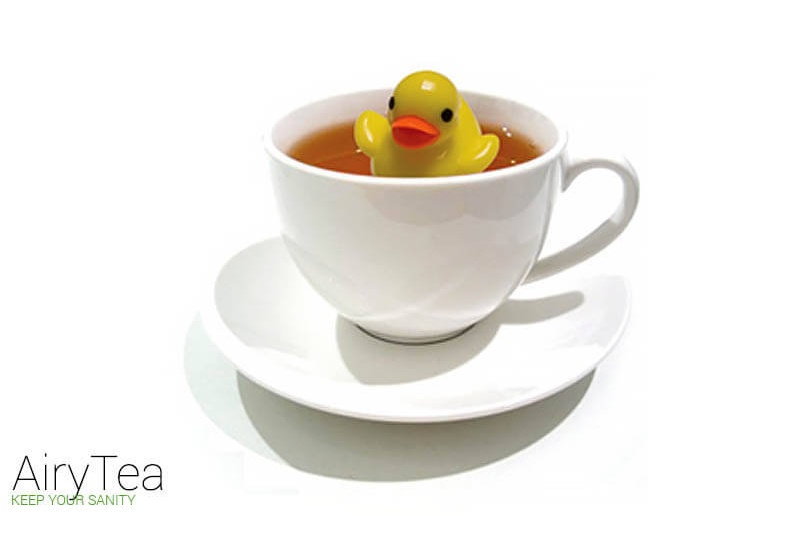 Cute Duck Tea Infuser