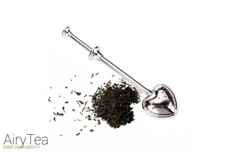 Heart Push Style (Stainless Steel) Tea Infuser