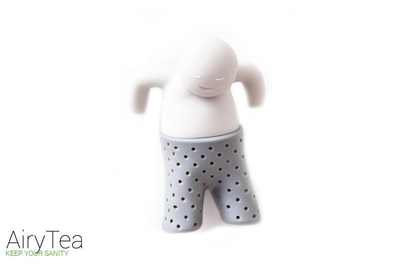 Mr. Relaxed Man Tea Infuser