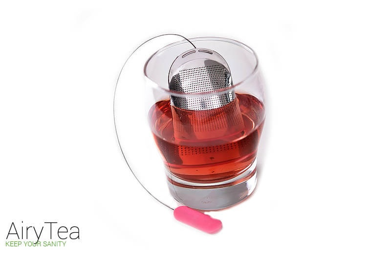 Pink (Stainless Steel) Tea Infuser