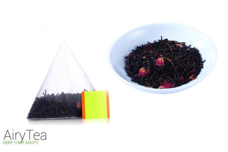 Pu'er Black Tea Luxury Tea Bags