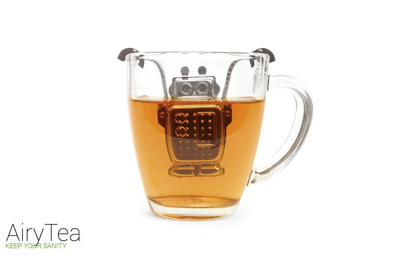 Robot (Stainless Steel) Tea Infuser