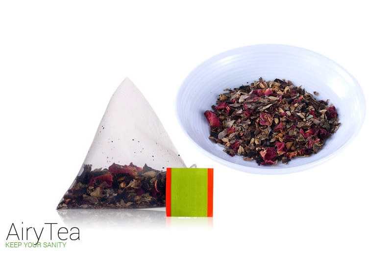 Rose and Lotus Leaf Luxury Tea Bags
