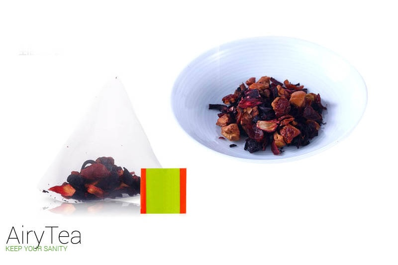 Roselle Sweet Berries Luxury Tea Bags