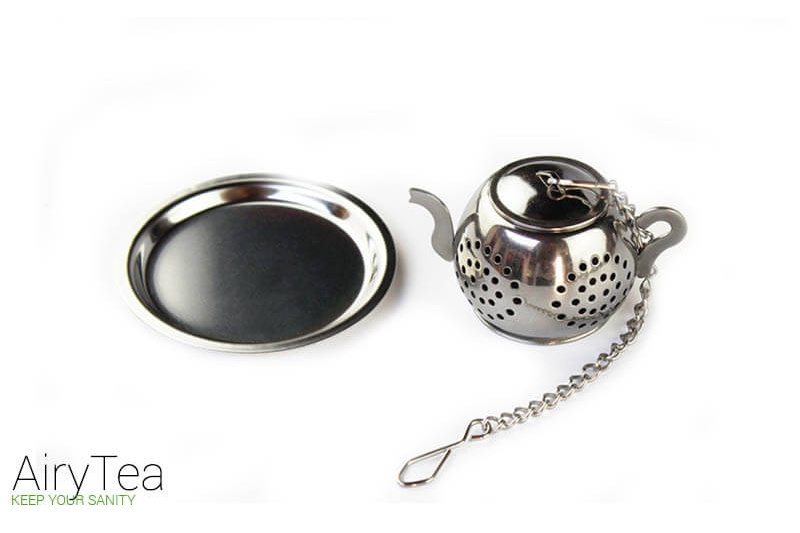 Tea Pot (Stainless Steel) Tea Infuser