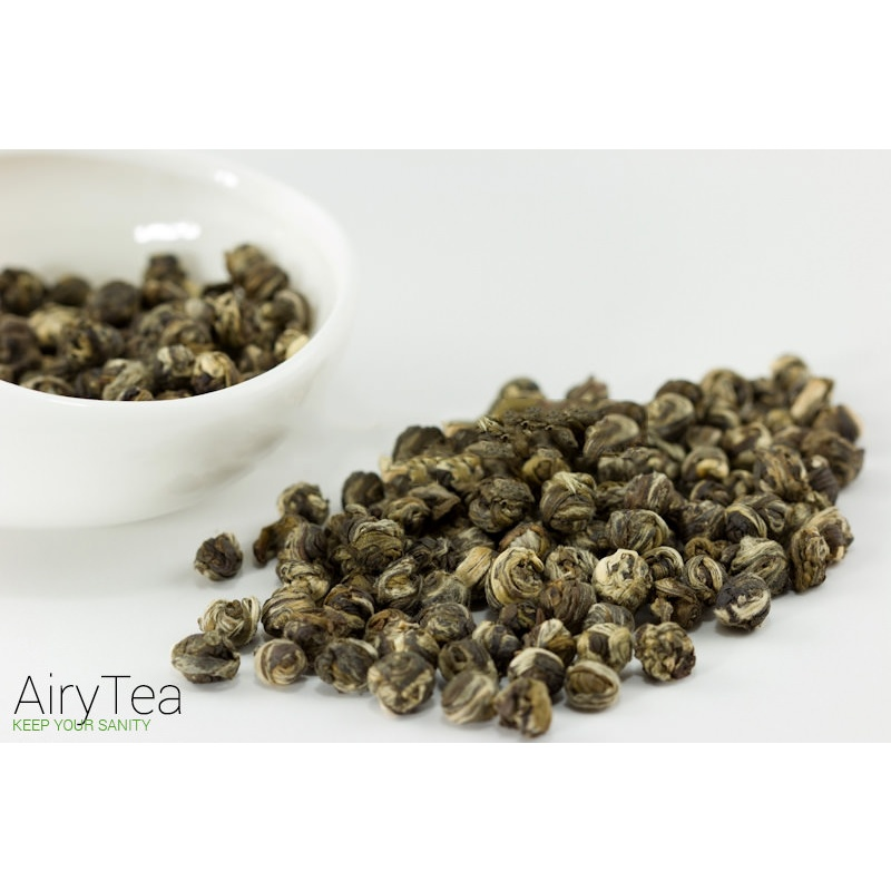imperial jasmine dragon pearl tea